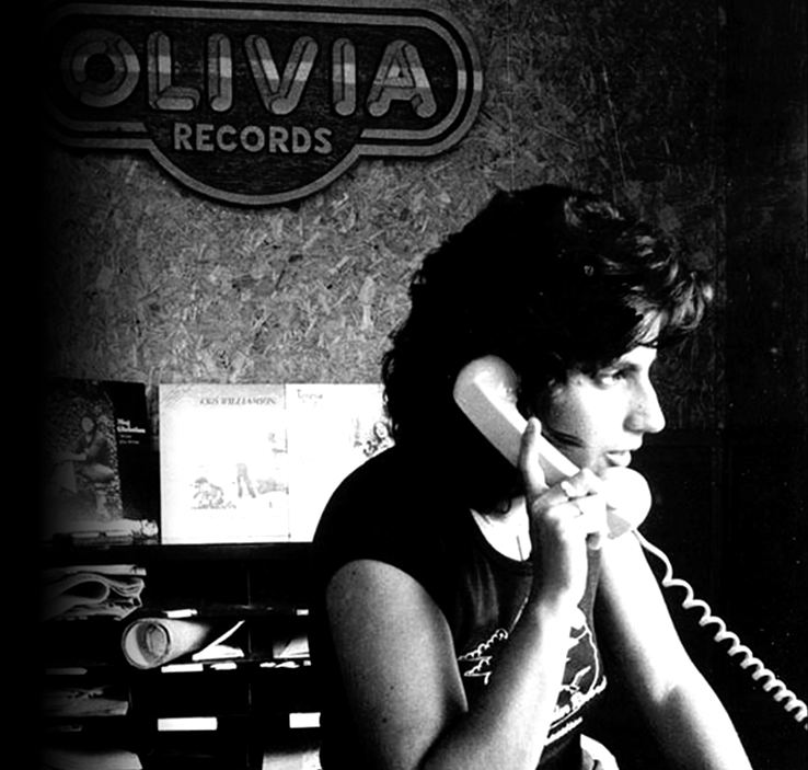 Olivia Founder and CEO Judy Dlugacz back in 1973